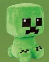 Plüsch Figur Crafter Creeper Minecraft von Elbenwald