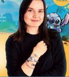 Armbanduhr-Schmuckset Lilo & Stitch von Elbenwald