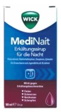 MediNait Erkältungssirup von Wick