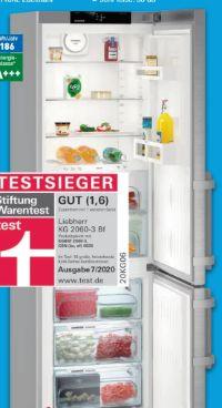 Kühl-Gefrierkombination KG 2060 von Liebherr