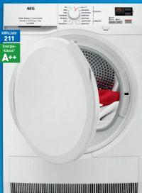 Wärmepumpen-Trockner Lavatherm T7DBC4570 von AEG