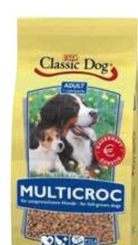 Trockennahrung Multicroc von Classic Dog