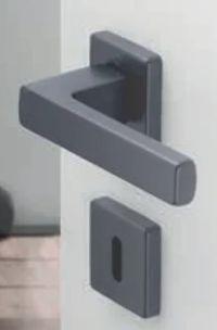 Aluminium-Rosetten-Türgriff-Garnitur Austin von Hoppe