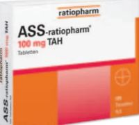 ASS-Ratiopharm TAH von Ratiopharm