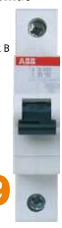 Sicherungseinbauautomat von ABB