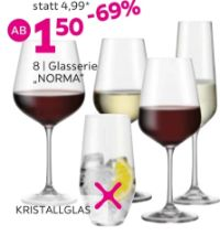 Glasserie Norma von Bohemia Selection