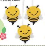 Filz-Hänger Biene von Buttinette