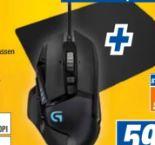 Gaming-Bundle G502 Hero & G240 von Logitech