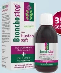 Bronchostop Sine Hustensaft von Kwizda Pharma