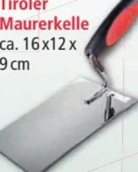 Tiroler Maurerkelle von Kraft Werkzeuge