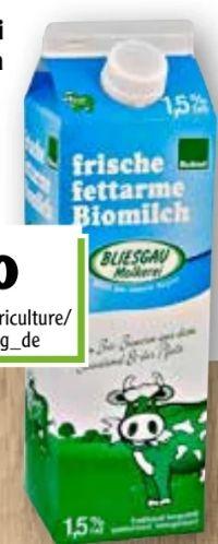Bio Milch von Bliesgaumolkerei