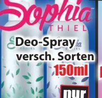 Deo Spray von Sophia Thiel