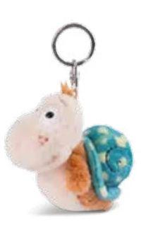 Schlüsselanhänger Snail von Nici