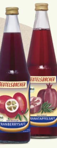 Bio Muttersäfte von Beutelsbacher