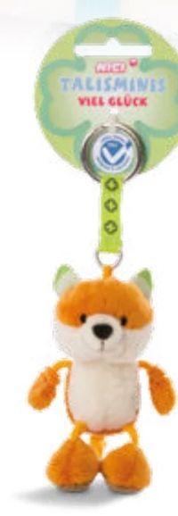 Fuchs Beanbag Schlüsselanhänger von Nici