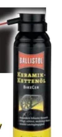 Keramik-Kettenöl BikeCer Spray von Ballistol