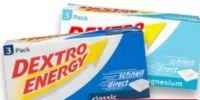 Täfelchen von Dextro Energy