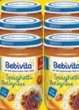 Menü Spaghetti Bolognese von Bebivita