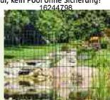 Teichschutzzaun von Bellissa