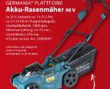 Akku-Rasenmäher 40 V von Germania