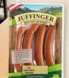 Bio Wiener Würstchen von Bio Metzgerei Juffinger