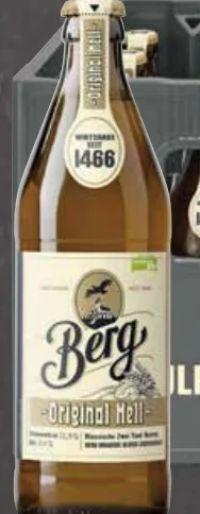 Original Hell von Berg Brauerei