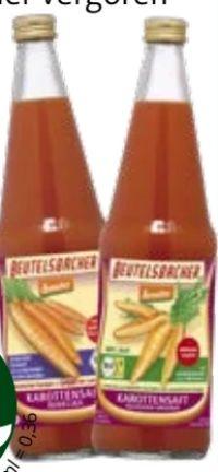 Bio Karottensaft Rodelika von Beutelsbacher