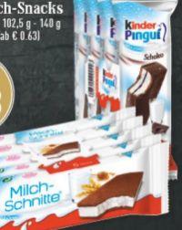 Kinder Milch-Snacks von Ferrero