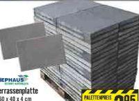 Terrassenplatte von Diephaus