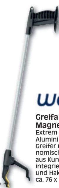 Greifarm mit Magnetspitze von Weinberger