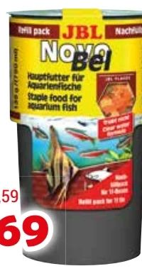 NovoBel Nachfüllpack von JBL Aquariumline