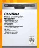 Einbau-Geschirrspüler CG5IS00HCD von Constructa