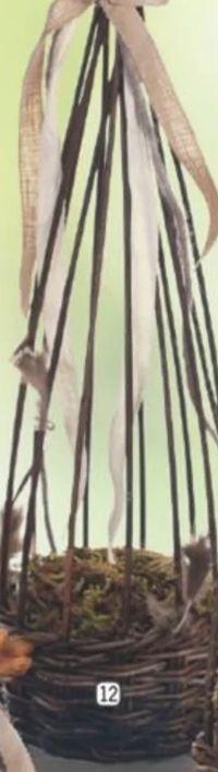 Weiden-Pflanzkörbe-Set von Buttinette