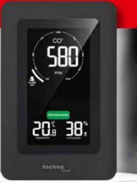 Luftqualitätsmonitor CO² WL1030 von Techno Line
