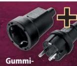 Gummischutz-Kontakt Stecker und Kupplung von Heitech