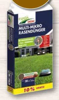 Multi-Mikro Rasendünger von Cuxin DCM