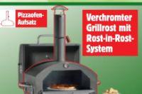 Passender Pizzaofen-Aufsatz von Mr. Gardener