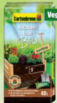 Bio-Hochbeeterde von Gartenkrone