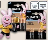 Batterien Ultra Power von Duracell