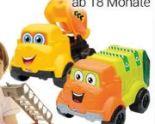 Spielzeug-Baustellenfahrzeuge