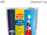 Koi Professional Frühjahr-Herbstfutter von Sera Aquaristik