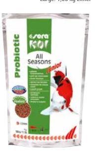 Koi Junior All Seasons Probiotic von Sera