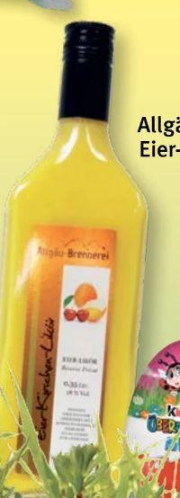 Eier-Kirsch-Likör von Allgäu-Brennerei