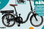 Falt-E-Bike Franzi 500 von Blaupunkt