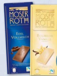 Premium Chocolade von Moser Roth