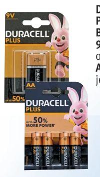 Plus Power von Duracell