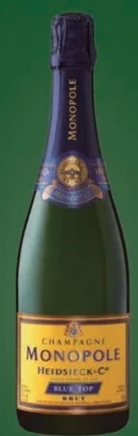 Monopole Blue Top Champagner Brut von Heidsieck & Co