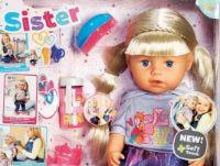 Soft Touch Sister Blond von Baby Born