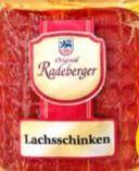 Lachsschinken von Radeberger Fleischwaren