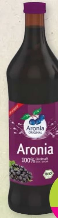 Bio-Aroniabeerensaft von Aronia Original